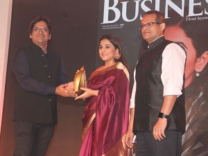 Vidya Balan At Women Of Worth Awards