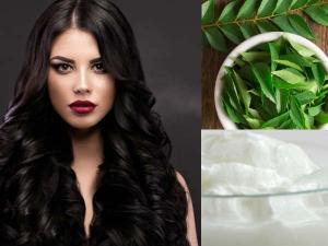 Curd Hair Packs Healthy Hair Growth
