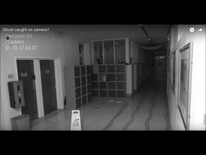 Ghost Activity Caught On Camera From School