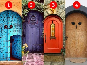 Which Door Do You Think Leads To Happiness