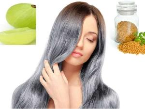Home Remedies Avoid White Hair