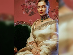 Deepika Padukone Turns Royally Bengali For Sabyasachi Nilaaya