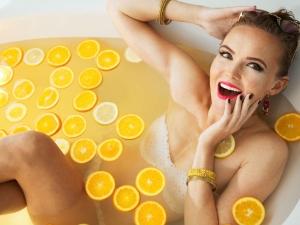 Benefits Adding Lemon Juice Bathing Water