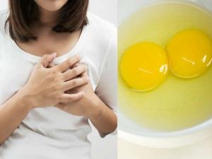 Egg Remedies Tighten Sagging Breasts