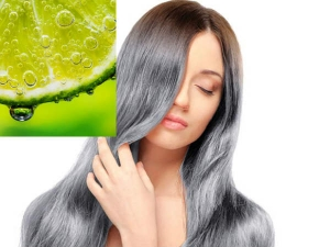 How Use Lemon Juice Blacken Your Hair