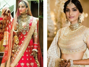 Wow Sonam Is A Vision To Behold In Her Wedding Attire