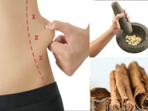 Garlic Cinnamon Remedy Reduce Belly Fat