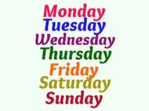Auspicious Days The Week Different Things