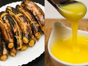 Kerala Banana Cooked Ghee Benefits Kids