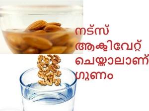 How Activate Nuts Salt Water Health Benefits