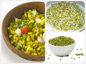 Special Green Gram Salad Dinner Reduce Weight