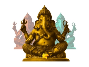 Offer Sindoor To Lord Ganesha To Solve Problems