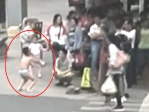 Mum Strips Her Son In Public For Touching Classmate Bottom