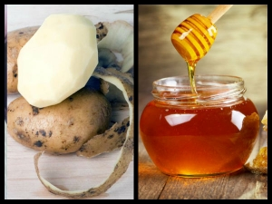Mix Potato Juice And Honey To Get Bright Skin
