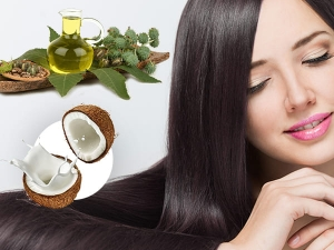 Boiled Coconut Milk And Castor Oil For Dandruff Treatment