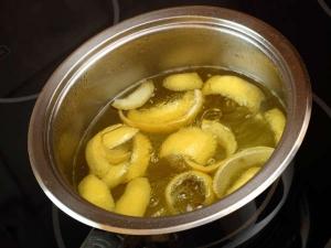 Lemon Peel Ginger Water For Acidity