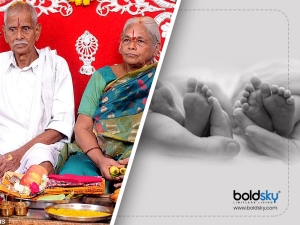 Elderly Husband Of 73 Year Old Indian Woman Who Gave Birth To Twins Suffers Stroke