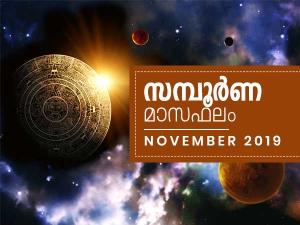 Monthly Horoscope November