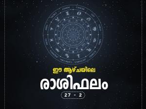Weekly Horoscope 27 October To 2 November