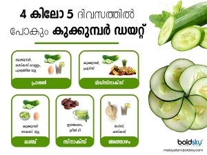 Cucumber Diet To Reduce Weight And Belly Fat