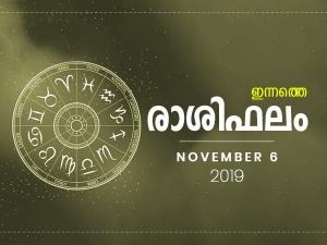Daily Horoscope Prediction For 6th November 2019