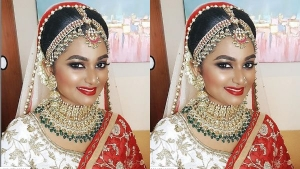 Sreelekshmi S Marriage Make Up Details And Outfit