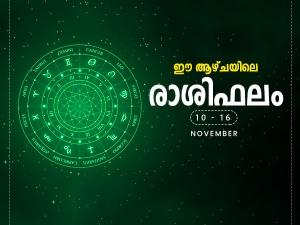 Weekly Horoscope 10 November To