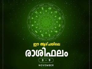 Weekly Horoscope 3 November To 9