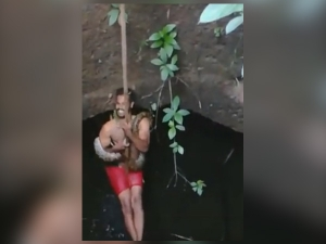 Viral Video Of Forest Watcher In Kerala Rescuing Snake From