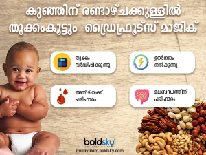 Health Benefits Of Dry Fruits For Babies