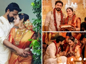 Actress Bhama S Stunning Wedding Day Look