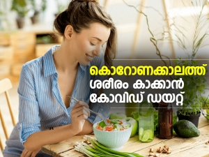 Covid Diet Plan To Stay Fit And Healthy