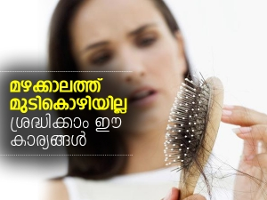 Home Remedies For Hair Fall In Monsoon