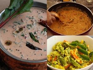 Onam Recipes Easy Curry Recipes For Onam Sadhya