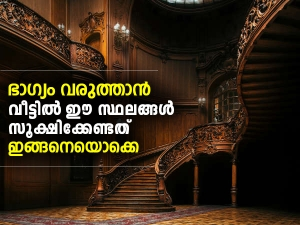 Astrological Tips To Bring Good Luck At Home In Malayalam