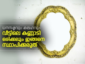 Vastu Shastra Tips For Mirror Placement At Home In Malayalam