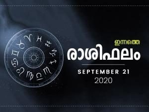 Daily Horoscope For 21st September