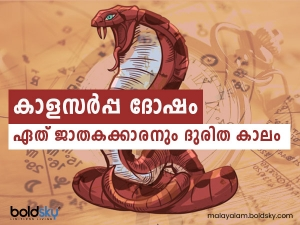 What Is Kaal Sarpa Dosha Effects And Remedies Of Kaal Sarpa Yoga In Malayalam