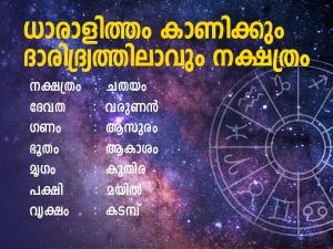 Chathayam Birth Star Prediction In Malayalam