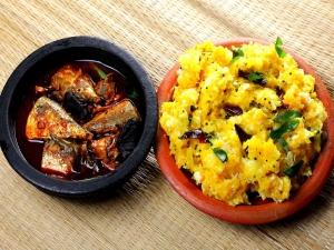 Traditional Kottayam Style Kappa Vevichath Recipe In Malayalam