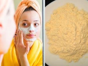 Homemade Besan Face Packs To Get Glowing Skin