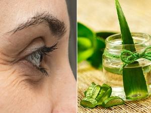 How To Use Aloe Vera To Treat Wrinkles Naturally