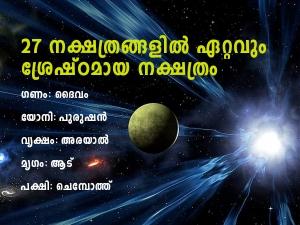 Pooyam Nakshatra 2020 Birth Star Prediction In Malayalam