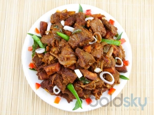 Mutton Pepper Fry Recipe In Malayalam