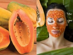 Homemade Papaya Face Pack For Glowing Skin