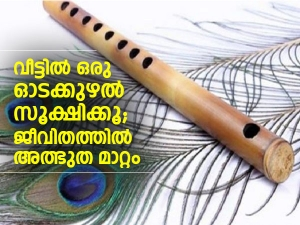 Vastu Tips To Keep Flute In House