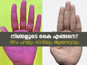 What The Color Of Your Palm Says About Your Future And Health