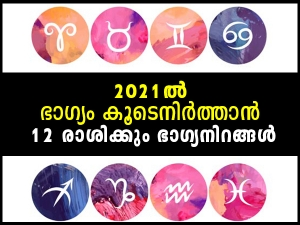 Lucky Colours For Your Zodiac Sign In