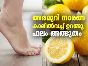 Benefits Of Sleep With Lemon In Socks