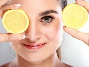 Lemon Peel Homemade Face Pack For Glowing Skin
